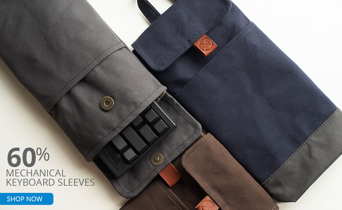 60% Mechanical Keyboard Sleeves SHOP NOW