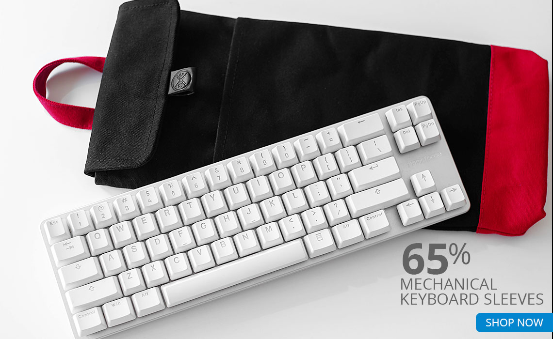 65% Mechanical Keyboard Sleeves SHOP NOW